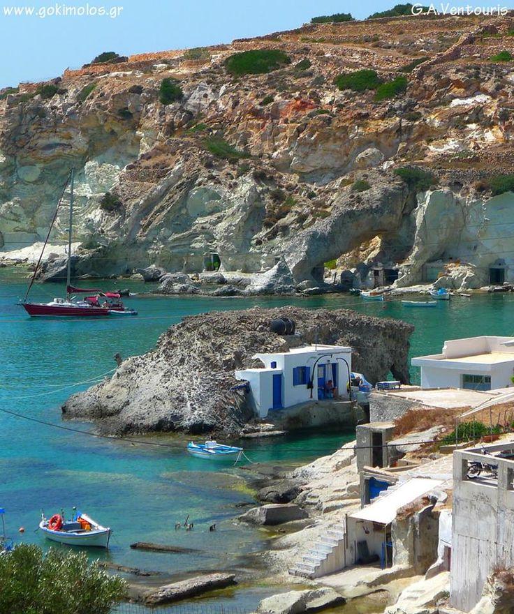 By the sea ~ Kimolos