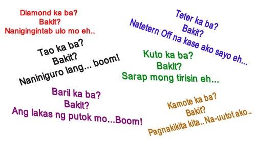 Sari-Saring Pang-Asar Tagalog Pickup Lines   Pick up lines ...