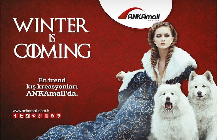 #WinterisComing En trend kış koleksiyonları #ANKAmall'da!