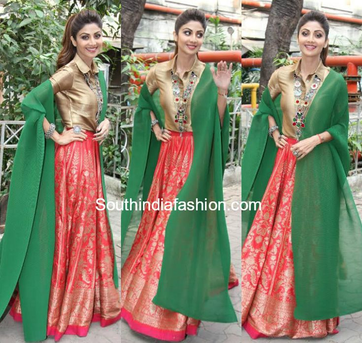 Shilpa Shetty in Payal Khandwala photo
