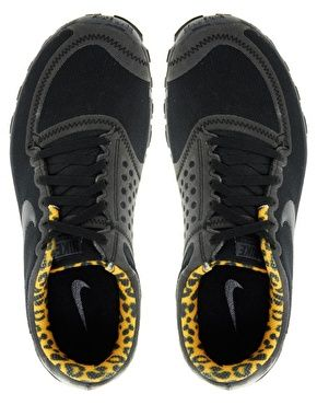 Basket Nike Free Run Leopard