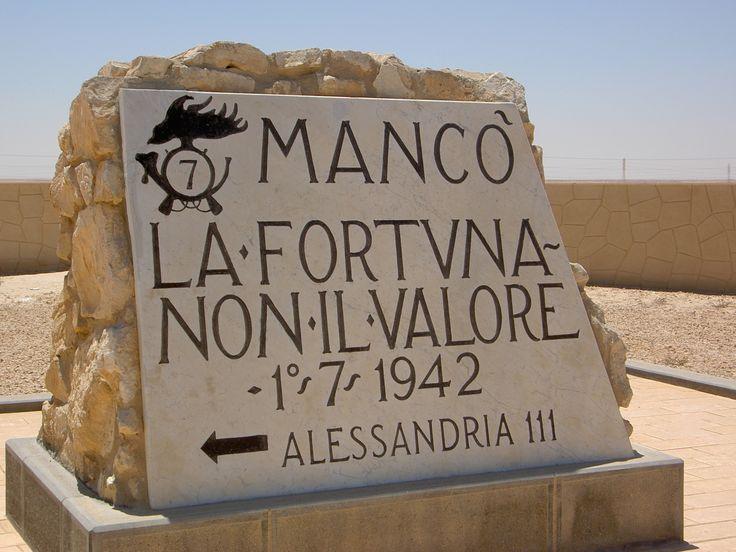 Il 23 ottobre del 1942 iniziava la battaglia di El-Alamein. Perno fondante dell'identità della Patria