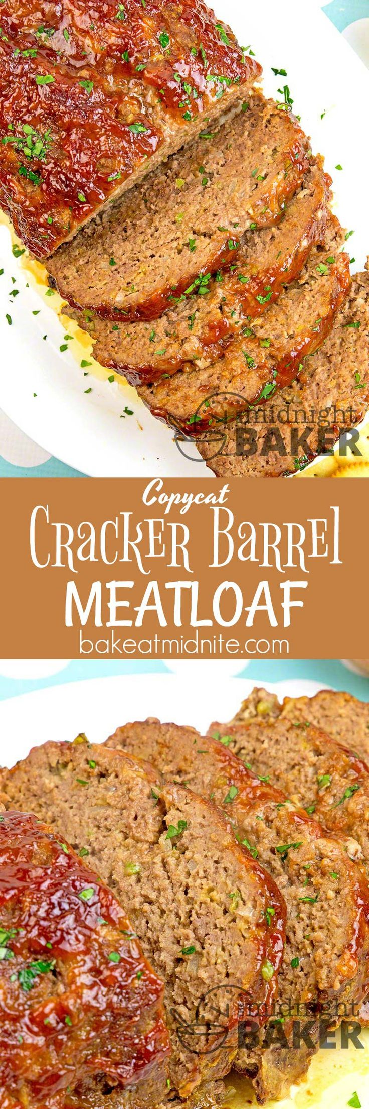 This meatloaf is one of Cracker Barrel's most beloved recipes.