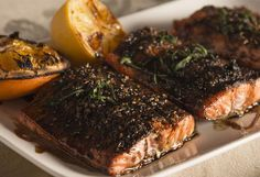 Traeger Salmon With Balsamic Glaze