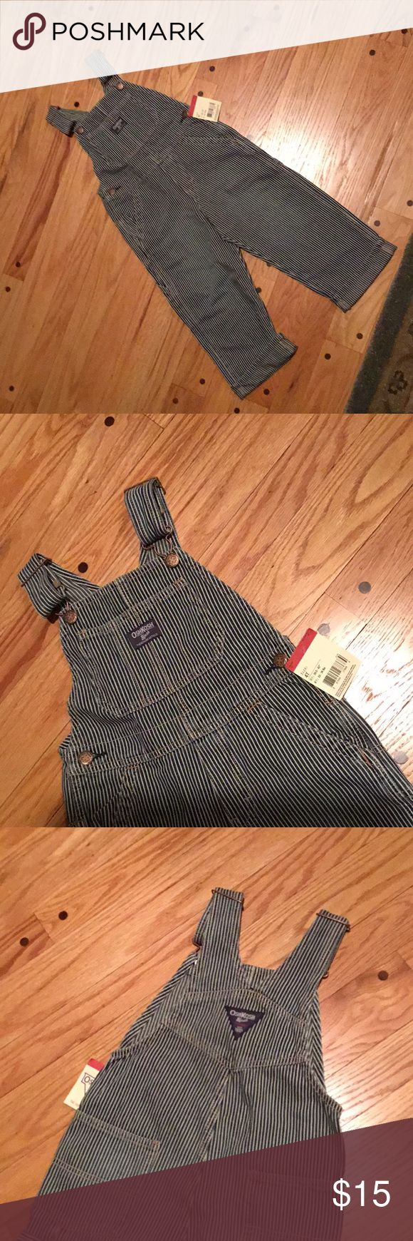 I just added this listing on Poshmark: OshKosh Carpenter Style, Railroad Stripe Overalls. #shopmycloset #poshmark #fashion #shopping #style #forsale #OshKosh B'gosh #Other