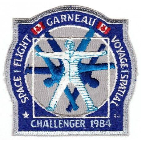 Marc Garneau STS-41-G Mission Crest
