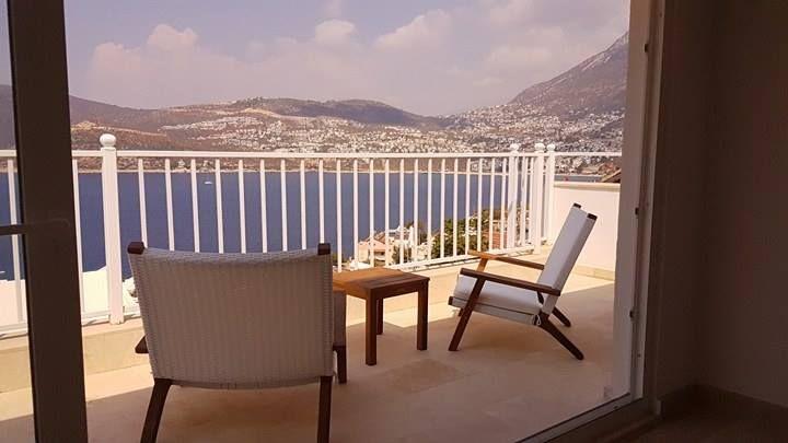 view from terrace. #kalkan