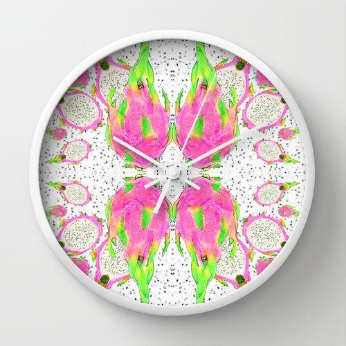 Dragon Fruit wall clock! https://society6.com/product/dragon-fruit-s8f_wall-clock#33=283&34=285