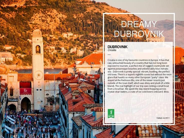 Dubrovnik by Elsie Rutterford  Croatia