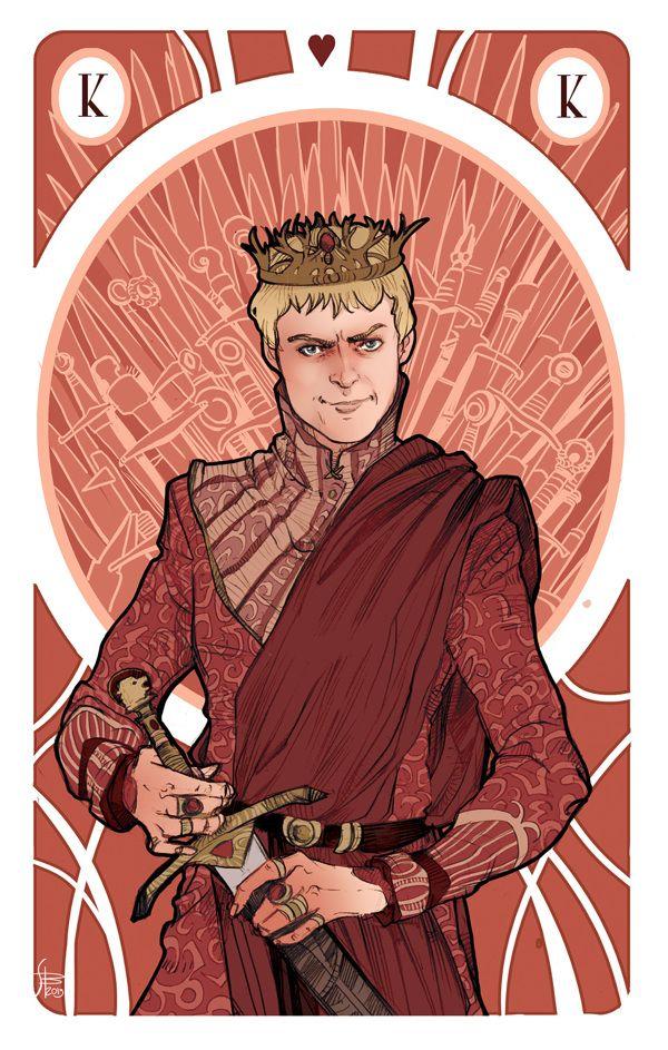 Joffrey Baratheon - Game of Thrones - Simona Bonafini