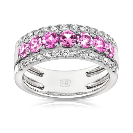 18ct White Gold Ring | Hardy Brothers Jewellers