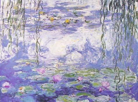 Check out Waterlillies by Claude Monet at New Zealand Fine Prints