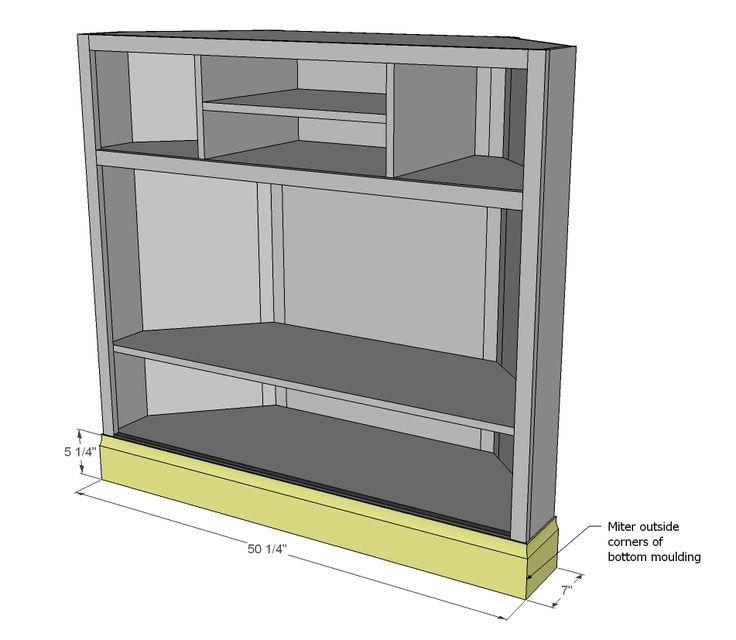 25 best ideas about corner media cabinet on pinterest small corner tv stand corner. Black Bedroom Furniture Sets. Home Design Ideas