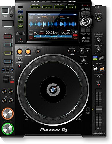 Pioneer Electronics CDJ-2000NXS2 Pro-DJ Multi Player with High-resolutions Audio Support:   The CDJ-2000NXS2 inherits all the best features from its predecessor - the CDJ-2000NXS - and takes a giant leap forward. We've added a larger, multicolour touch screen with a Qwerty keyboard and search filters to help you select tracks faster. 2 banks of 4 Hot Cues give you more creative freedom, while a 96 kHz/24-bit sound card and support for FLAC/Apple Lossless Audio (ALAC) means you can play...