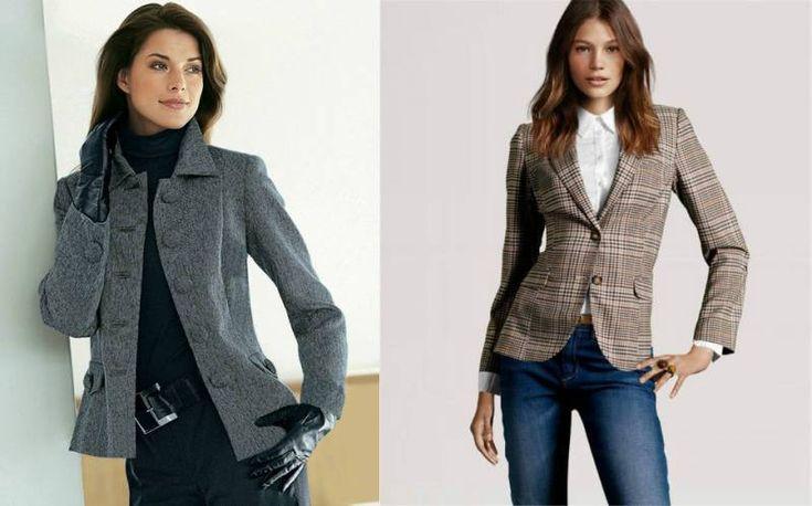 Женский твидовый пиджак: обзор новинок сезона