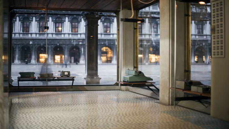 negozio olivetti, piazza san marco