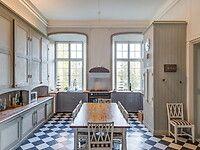Bilder, Kök/matplats, Klassiskt, Rutigt golv, Sekelskifte, Svart, Vit - Hemnet Inspiration
