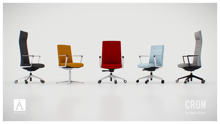 CRON - Business Ergonomic Seating #Actiu #offices #chairs