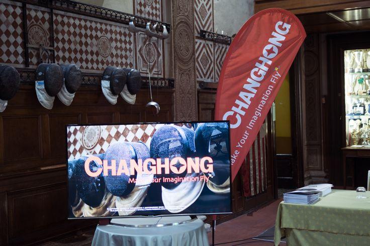 """#Changhong - """"Società del Giardino"""" Esposizione TV - Trofeo Alberto #Pellegrino."""
