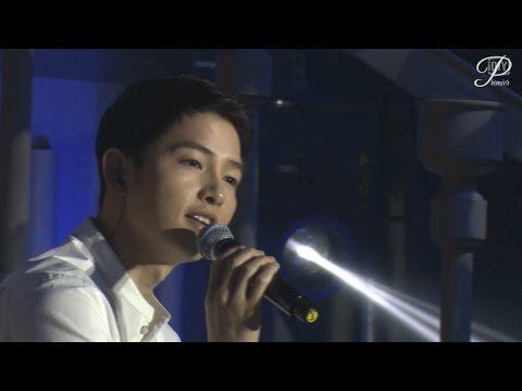 160521 송중기 우한 팬미팅 final - 편지낭독/태후 패러디엔딩? 빅보스송신-Always - YouTube