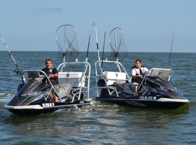 Jet ski fishing adventures jet ski fishing pinterest for Jetski fishing rack