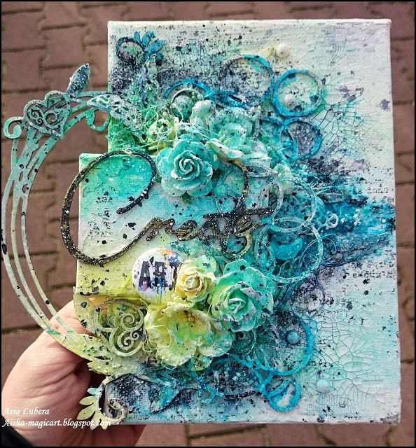 Enter into the magic: Create Art- Creative Embellishments challenge