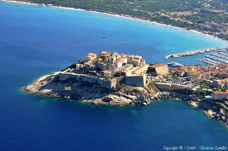 ✈️ Photo aérienne de  Calvi - Haute-Corse