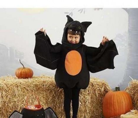 Costumi per bimbo da pipistrello
