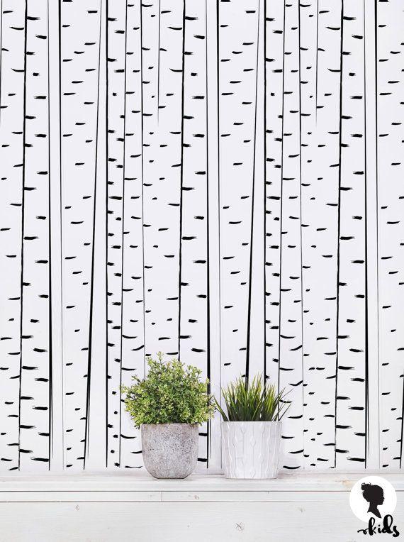 die besten 25 birke tapete ideen auf pinterest baum hintergrundbild wald tapete und birke. Black Bedroom Furniture Sets. Home Design Ideas