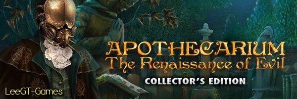 LeeGT-Games: Apothecarium: The Renaissance of Evil Collector's ...