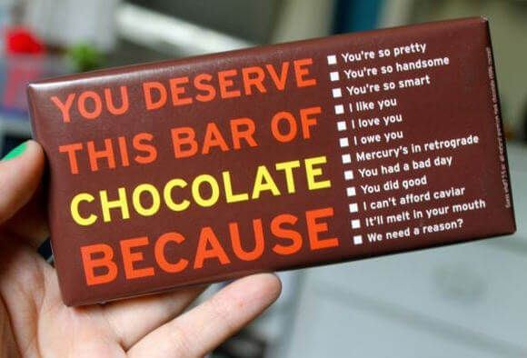 """A list of 30 chocolate sayings and famous quotes from well-known names. """"A little chocolate a day keeps the doctor at bay."""" – Marcia Carringto """"All you need is love, but a little chocolate does not hurt from time to time."""" – Charles M. Schulz """"Anything is good if it's made of chocolate."""" Jo BrandRead More"""