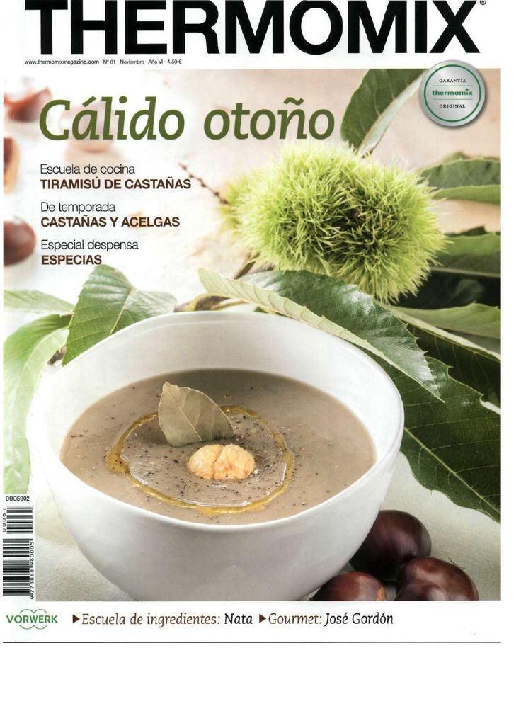 ISSUU - Revista thermomix nº61 caliddo otoño de argent