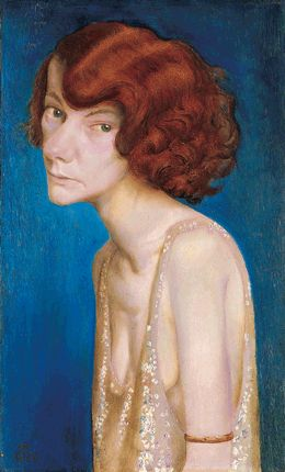 Otto Dix, Woman with Red Hair, 1931// I find this to be so striking.