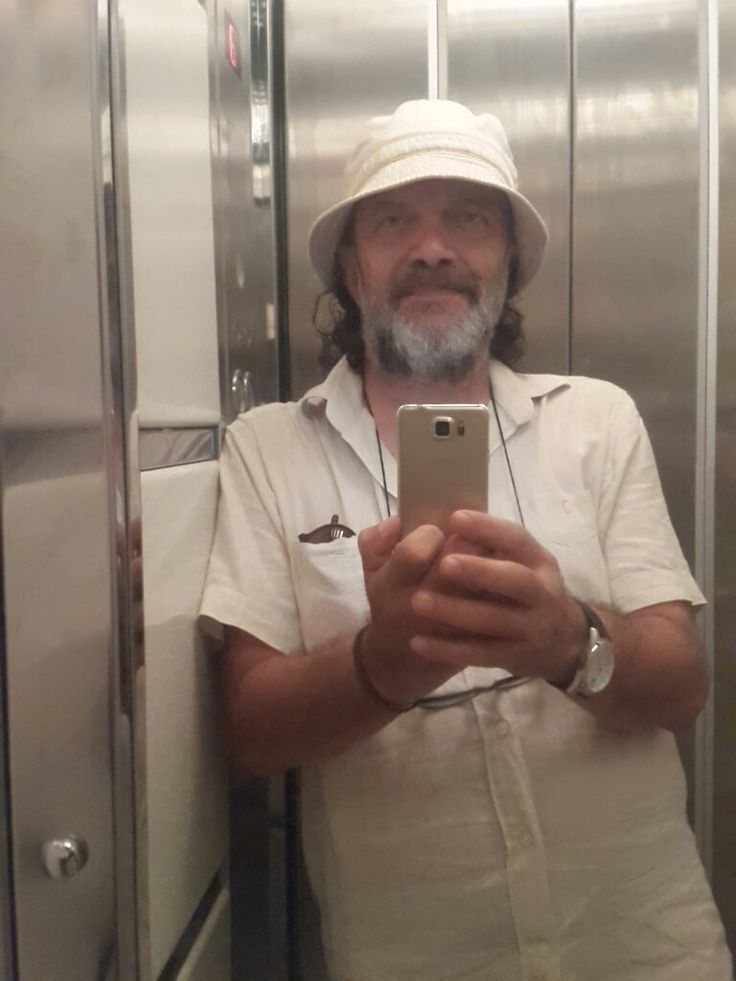 Me inside elevator...
