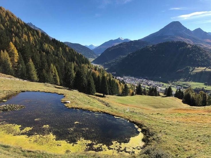 Herbstbild in Nauders am Reschenpass