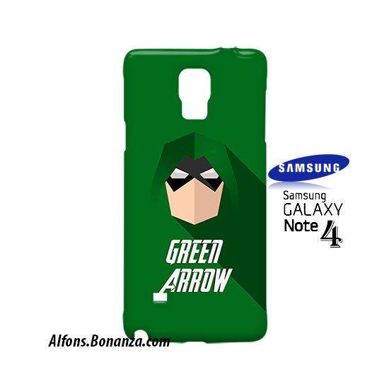 Green Arrow Superhero Samsung Galaxy Note 4 Case