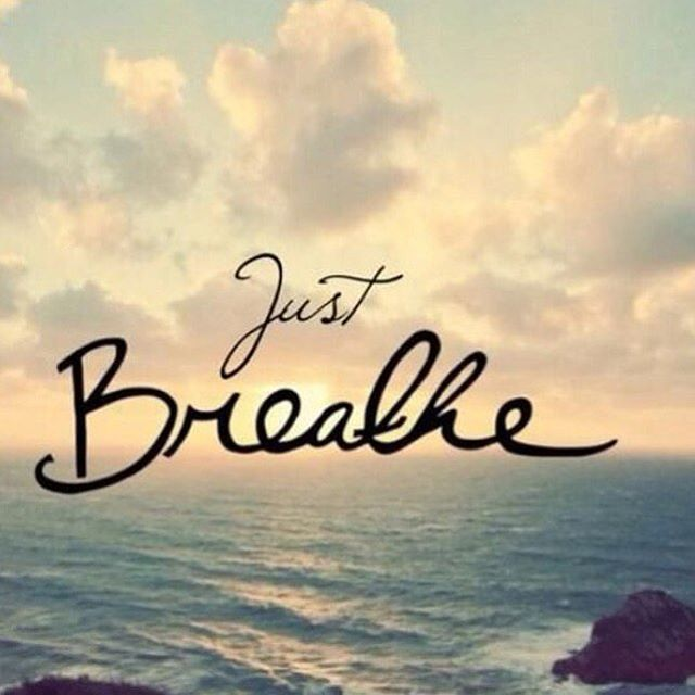Take a minute to just breath today and enjoy it!