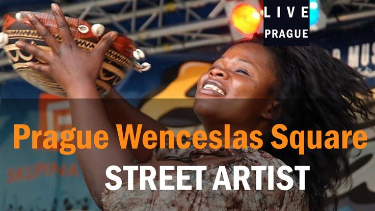 Street Artist Prague 04-09-2015 Africa Style, Tribal Style ,Bijou Camara...
