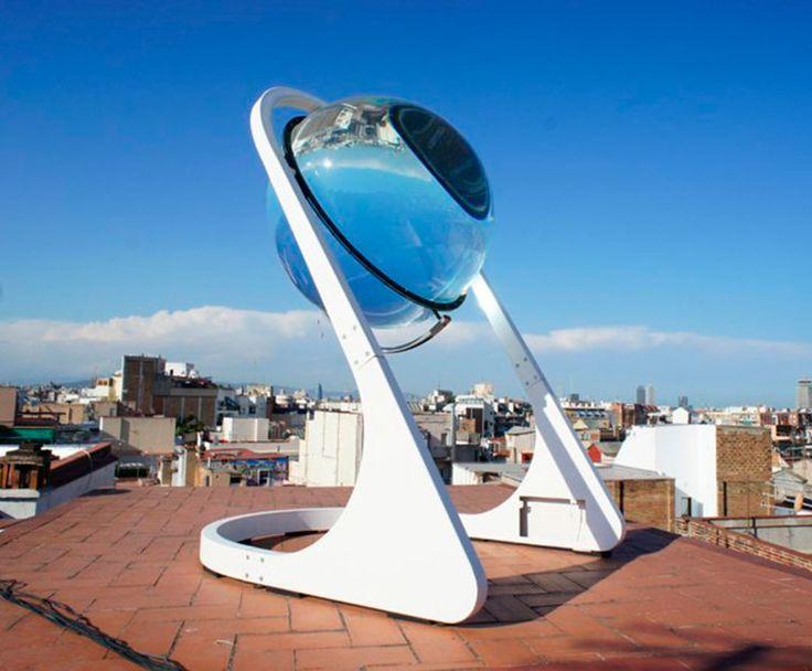 Rawlemon – Cette jolie sphère transparente est un capteur solaire révolutionnaire