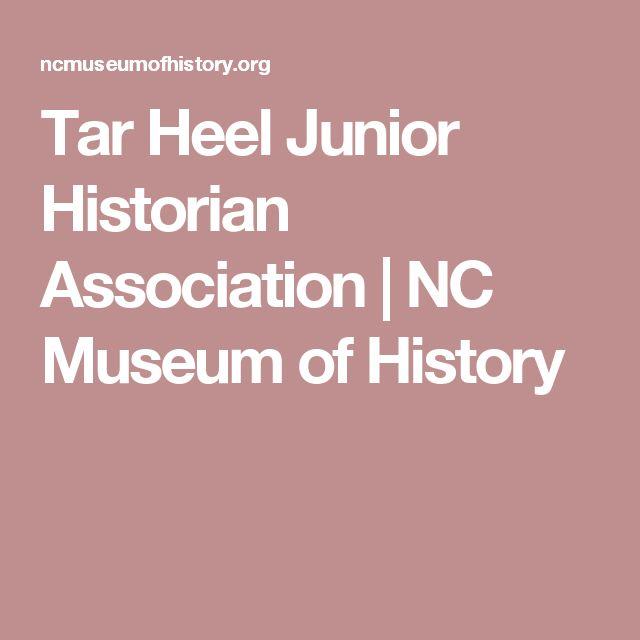 Tar Heel Junior Historian Association | NC Museum of History