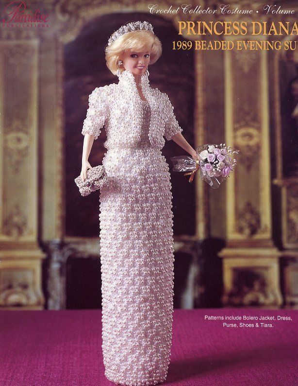 Paradise Crochet Pattern 49 Princess Diana Beaded