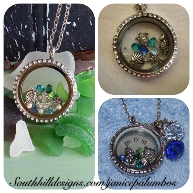 Dreaming of a beach vacation??  Step 1: Choose your Locket Step 2: Choose your Coin Step 3: Choose your Charms Step 4: Pick a Chain Step 5: Add Droplets Step 6: Wear and Enjoy!  Come join my South Hill Designs team!  http://www.southhilldesigns.com/janicepalumbos