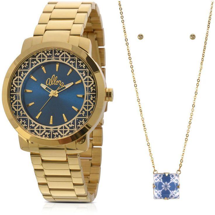 147ea3c7d5af7 Relógio Feminino AL2035EYZK4A Allora -Relógios e Joias - relogio-feminino -  Walmart.com