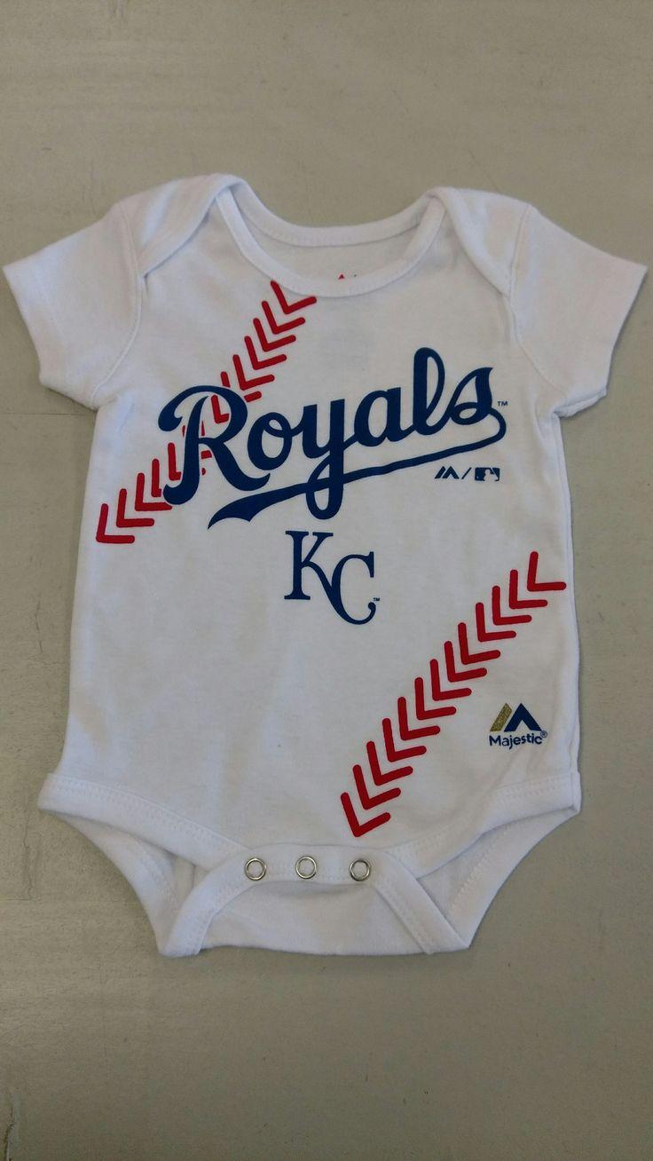 Best 25 baseball onesie ideas on pinterest baseball kids kids kansas city royals baseball stitch onesie by majestic mo sports authentics apparel gifts negle Choice Image