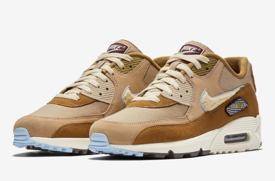 the best attitude 6e0c3 c7815 Take A Look This Nike Air Max 90 With Chenille Swooshes