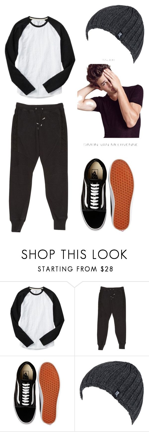 """""""•________•"""" by lore-4ever-directioner on Polyvore featuring Gap, Balmain, Vans, Heat Holders, men's fashion y menswear"""
