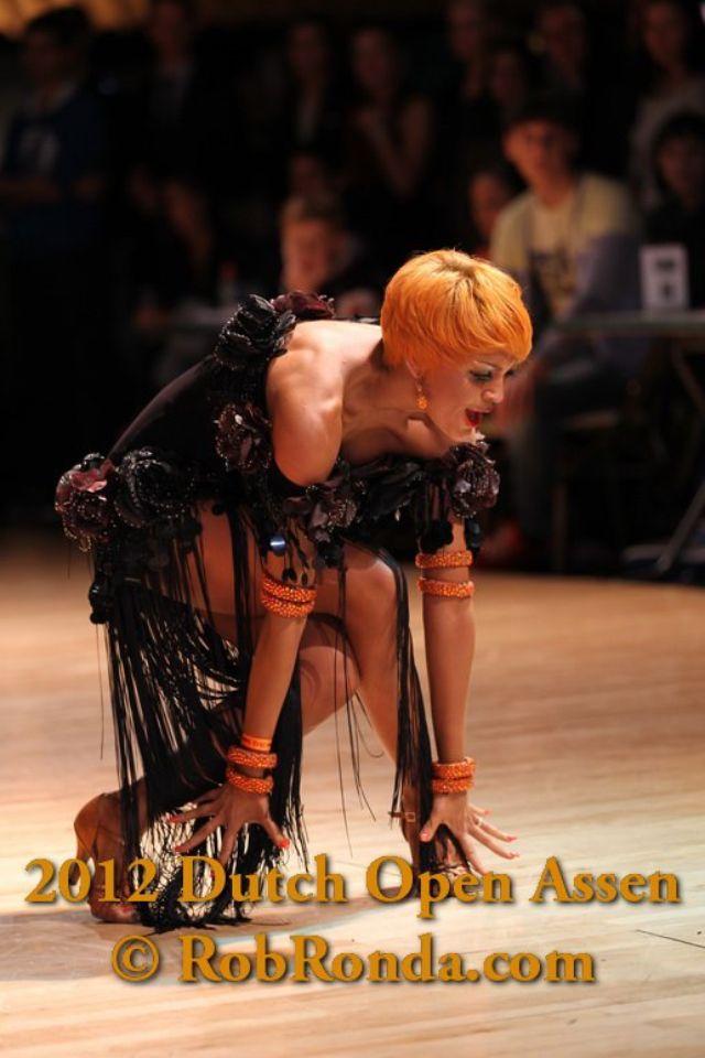 Yulia musikhina. 2012 Dutch open assen