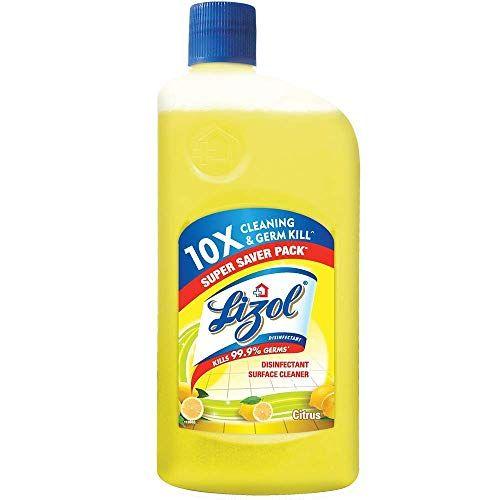 Lizol Disinfectant Surface Cleaner Citrus 975ml Lizol In 2020 Surface Cleaner Citrus Better Cleaning