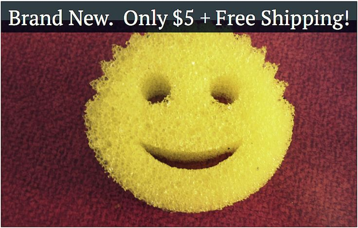 Jumpstart your spring cleaning game with the Scrub Daddy! Cathy & Josh are offering a great deal– only $5, with free shipping! These things are flying off the shelves!
