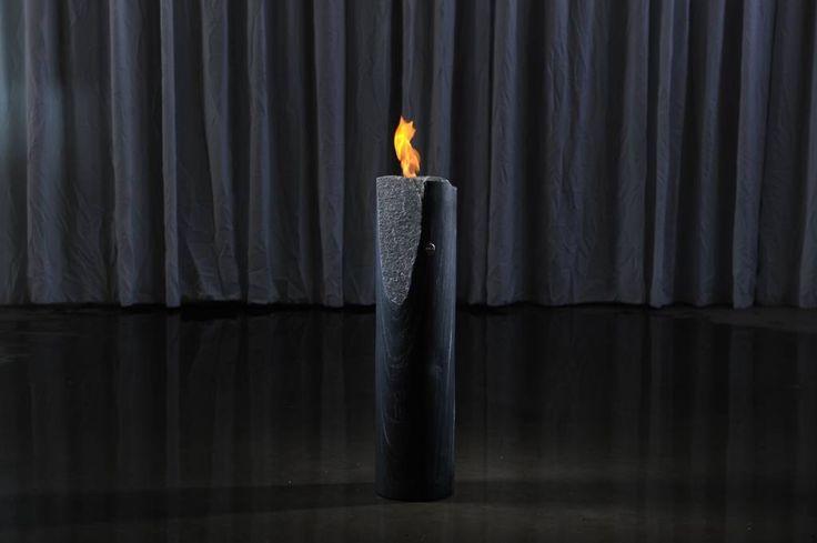 Feuerzylinder Glimmerschiefer